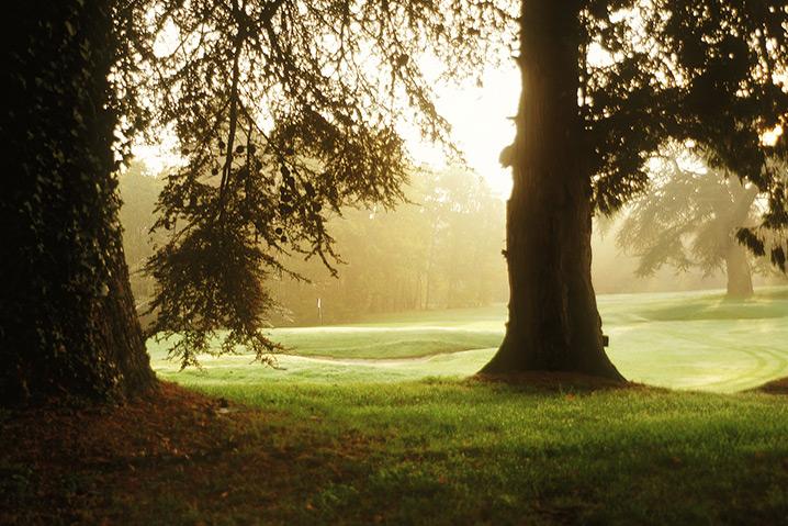 Vue du golf Val de l'Indre